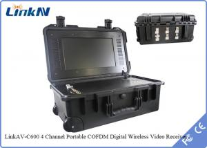 China Military / Police wireless hd video transmitter and receiver HDMI Output IP65 Waterproof on sale