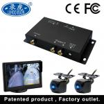 Multi Channel Vehicle Mobile DVR For Vehicles 2 Inputs RCA Connector
