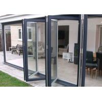 Custom Aluminium Bi Folding Patio Doors Energy Saving For Exterior Patio