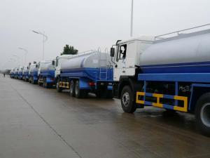 China SINOTRUK HOWO Water Tank Truck EURO II 15000L With German VDO Instruments on sale