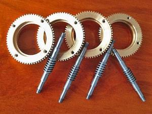China Precision worm gear on sale