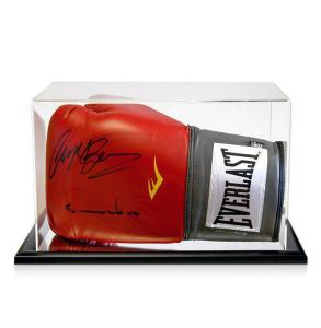 China clear acrylic boxing glove display box on sale