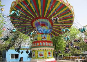 China Factory direct amusement equipment 24 seats shakinghead flying chair for sale on sale