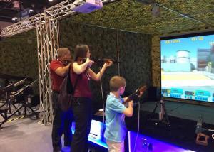 China Popular Virtual Reality Motion Simulator , VR Shooting Simulator Arcade Games Machines on sale