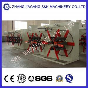 China 32mm Plastic Pipe Winding Machine Automatic , Pipe PVC Coiler Machine on sale