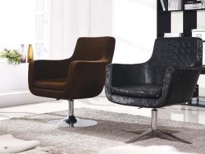 China Leisure Metal Swivel Coffee Chair on sale