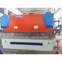 China 110 Ton Sheet CNC Hydraulic Press Brake Steel Plate Bending 4m Long Worktable on sale