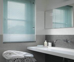 China Aluminum Decorative Venetian Blinds , Window Security Shutters on sale