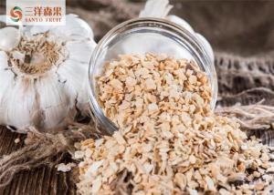 China L'ail déshydraté s'écaille/granulaire/poudre, légume déshydraté organique on sale