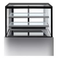 China 1800mm Two Layers Refrigerated Cake Cabinet Fan Forced Ventilation on sale