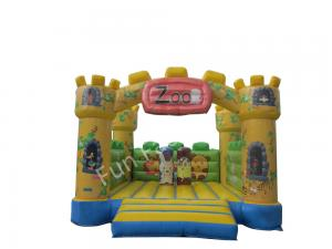 China Inflatable Castle Bounce House / Inflatable Air Bouncer For Blow Up Games on sale