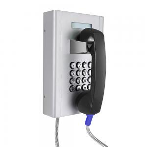 China Cold Rolled Steel Vandalism Resistant Analog Telephone For Hospital on sale