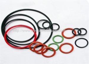 China Resistencia del petróleo del color del tamaño de los equipos hidráulicos del anillo o de NBR/de FKM/de Viton diversa on sale