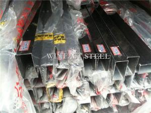 China Decoration 201 Welded Stainless Steel Pipes Bright Polished 400# on sale