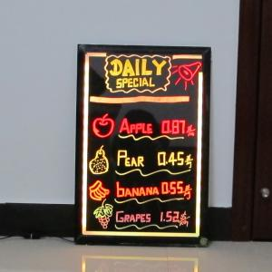 China DIY flashing led message board for kids on sale