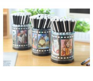 China Plastic 36pcs/canister gel pen,cartoon gel pen set of promotion gifts on sale