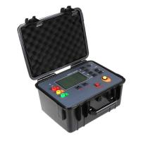China Auto Test Earth Ground Resistance Tester Kit 100V 30KΩ 128Hz Test Frequency on sale