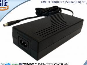 China 100-240VAC 24V 5A Universal Laptop Power Supply AC DC Portable CE FCC Mark on sale