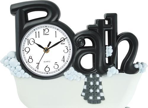 Novelty Bathroom Bath Wall Clock For Sale Wall Clocks