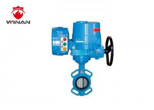China Desulfurization Butterfly Fire Fighting Valves Handle Operated 300PSI Pressure on sale