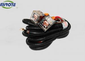 China 2 Headlight H4 Headlamp Automotive Wiring Harness Kits 80 Amp High Performance on sale