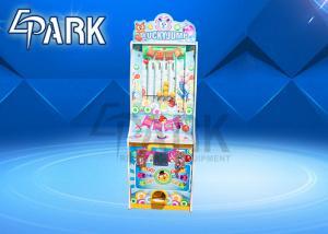 China Amusement kids toys lucky jump machine redemption arcade game machine hot sale on sale