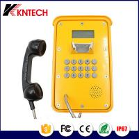 China Weatherproof Telephone Voip telephone Industrial Telephone with LCD display For Mine Use hotline KNSP-16 on sale