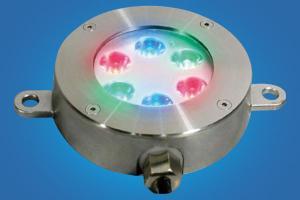 China RGB 27W LED Underwater Light,LED Underwater Pool Light on sale