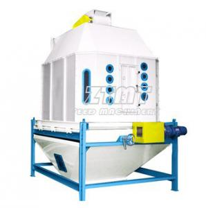 China Factory Poultry / Plant Feed Pellet Cooler With The Counterflow Cooling Principle on sale