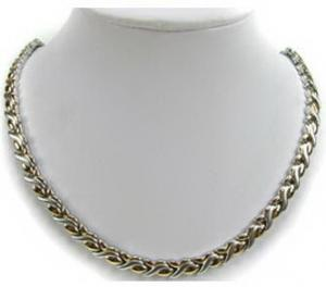 China IP gold magnets Stainless steel necklace 48cm lemgth / mens stainless steel chains on sale