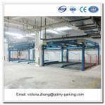 Lift and Slide Puzzle Intelligent Vertical Parking System