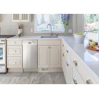 Galaxy Natural Quartz Surface Countertops For Kitchen Customized Size