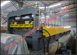 China Customized Long Span Aluminium Roof Panel Roll Forming Machine with High Working Speed on sale