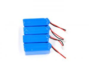 China Blue Portable Car Jump Starter , 11.1V 1100Mah Jump Start Battery Pack For RC Machines on sale
