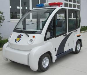 China DC48V Patrol Electric Powered Vehicles Anti Corrosion Eco Friendly on sale
