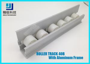 China Roller Track Placon 40 mm Width Aluminum Alloy Flange Frame For Conveyors 40B on sale