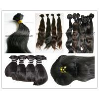 China Top quality virgin natural human hair extension on sale