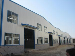 China High Strength Bolt Prefabricated Steel Structure Building For Garage-For Hangar on sale