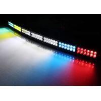 Emergency Flashing LED Light Bar For Vehicles , Truck Warning Light Bars 252W 46 Inch