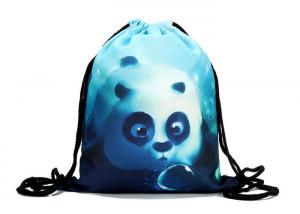China Cheap Custom Drawstring Backpacks , Design Your Own 39 * 30cm Cinch Bag on sale