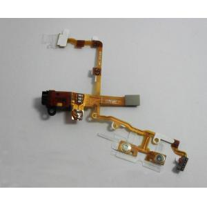 China Black Headphone Audio Jack Ribbon Flex Cable For iPhone 3G on sale