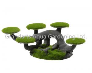 China Moss tree stump, bonsai tree, artificial tree, mini tree decoration on sale