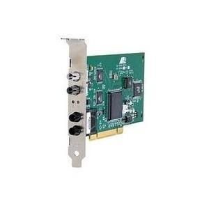 China 100Mbps PCI Fiber ethernet cards (ST connector) on sale