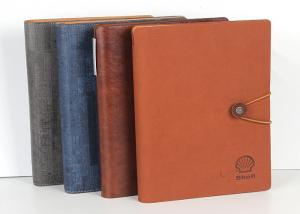 China Spiral Leather Cover And A4 Size Notebook Custom Book Printing For Diary And Agenda on sale