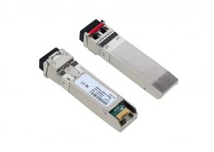 China 10G DWDM Optical SFP+ Optical Transceiver Module Long Distance for 40KM on sale