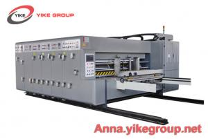 China Economic Flexo Printer Slotter Die Cutter Machine For Pizza Box 50mm Wall Board on sale