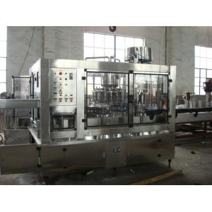China SUS304 Hot Filling Machine / PET Bottle Filler Machine ISO SGS Certificated on sale