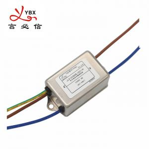 China Yanbixin SMPS AC Single Phase RFI Filter Rated Current 1A-10A Stable Performance on sale
