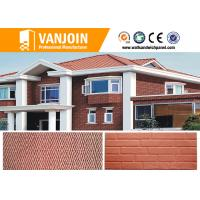 China Easy And Convenient Construction Flexible Clay Material Tile Flexible Tile For Exterior Walls on sale