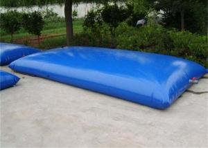 China Portable Water Storage Bladder , Soft PVC Pillow Tanks Water Storage Easy Operated on sale